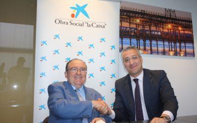 """Un nuevo equipo refrigerador financiado por la Obra Social """"la Caixa"""" permitirá al Banco de Alimentos de Huelva aumentar sus beneficiarios"""