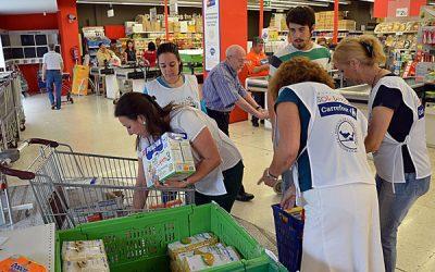 El Ayuntamiento facilita al Banco de Alimentos los informes necesarios para asistir a 2.300 familias de la capital