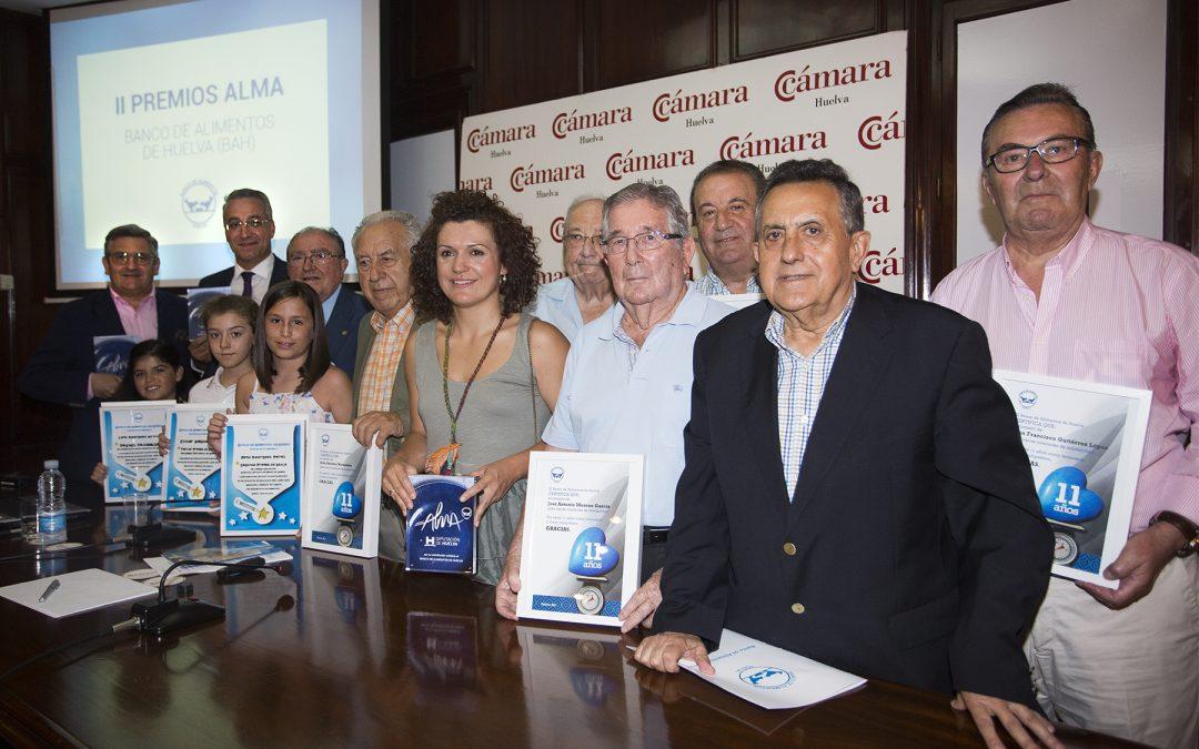 """El BAH distingue a la Diputación, a la Obra Social """"la Caixa"""" y a Gestocomunicación en sus II Premios Alma"""