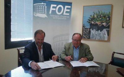La FOE y el Banco de Alimentos trabajarán de manera conjunta en la capacitación de sus voluntarios