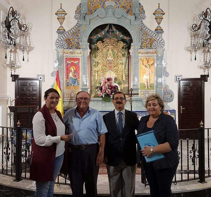 La Hermandad del Rocío de Huelva dedica su primer Jueves de Rosario al Banco de Alimentos de Huelva