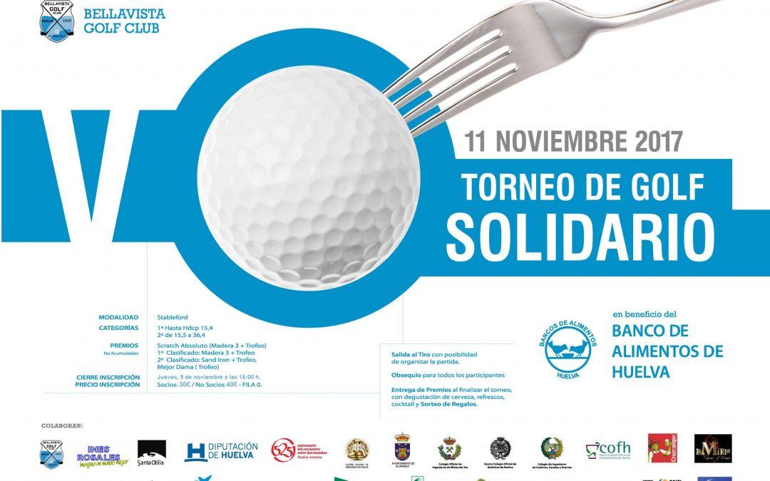 El Club de Golf de Bellavista acoge el V Torneo de Golf a beneficio del Banco de Alimentos de Huelva