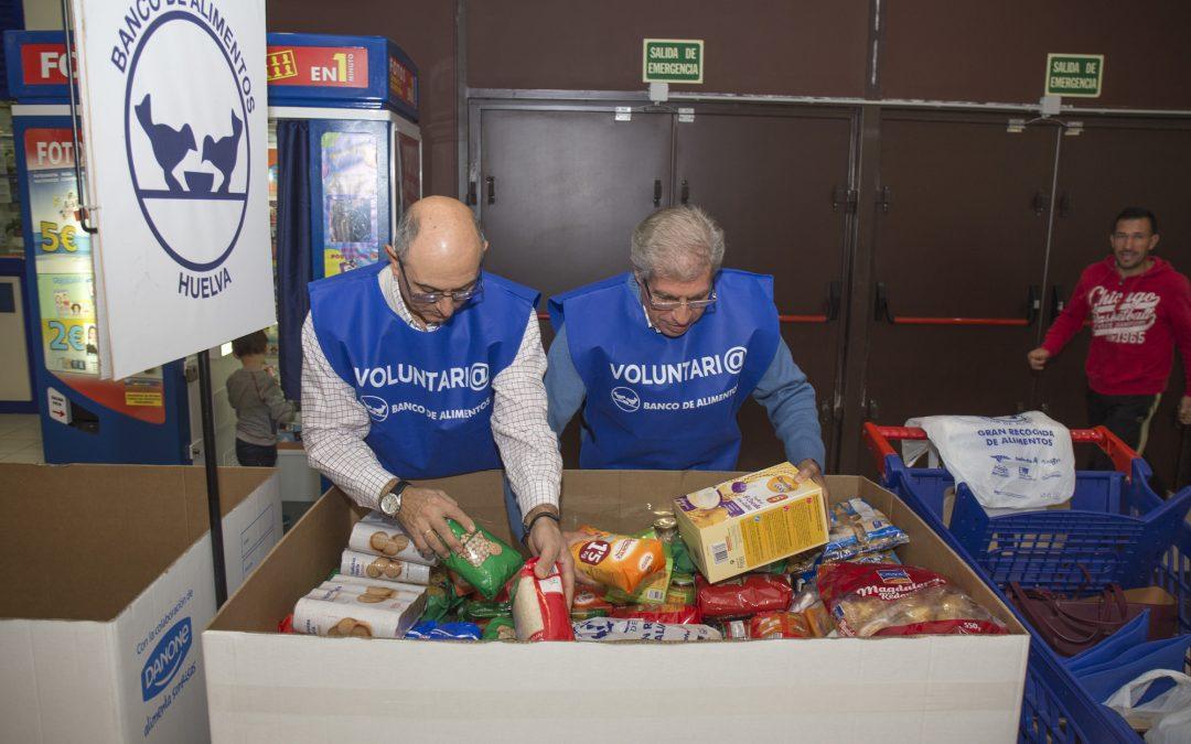 El Banco de Alimentos de Huelva confía en recaudar 145.000 kilos de alimentos en la Gran Recogida 2017