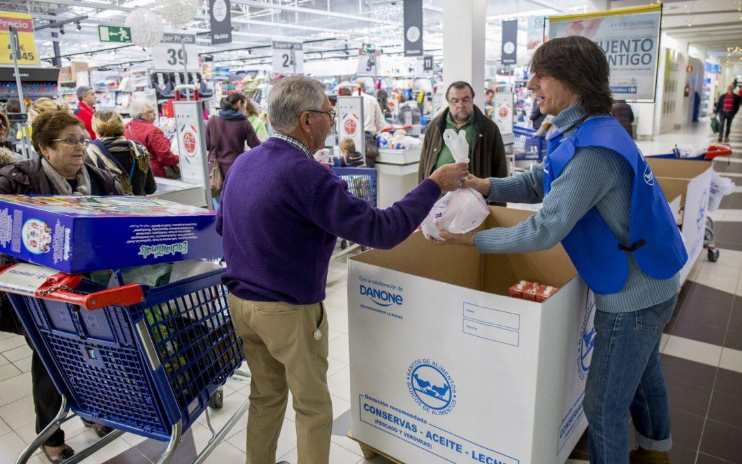 El Banco de Alimentos de Huelva recauda más de 140.000 kilos en la Gran Recogida 2017