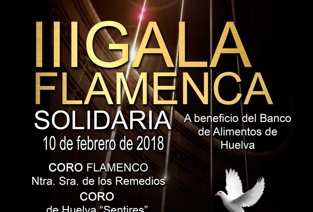 Gala flamenca a beneficio del Banco de Alimentos de Huelva en el Teatro Cinema de Corrales