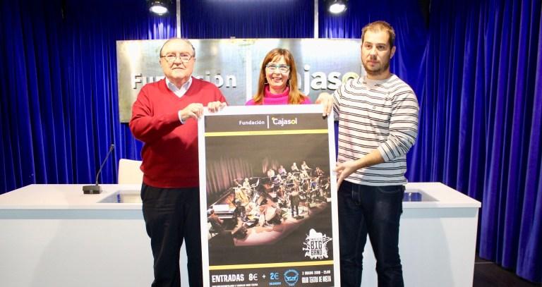 La Fundación Cajasol trae a Huelva a la Andalucía Big Band en un concierto a beneficio del Banco de Alimentos