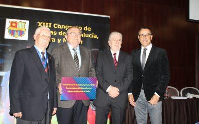 El XIII Congreso de Peñas Barcelonistas de Andalucía colabora con el Banco de Alimentos