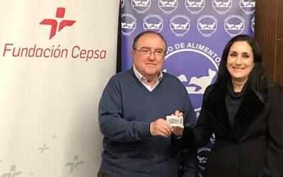 La Fundación Cepsa dona tarjetas de carburante al Banco de Alimentos del Huelva