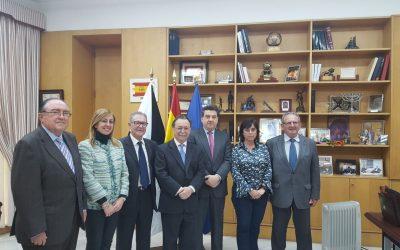 Los Bancos de Alimentos de Andalucía mantienen un encuentro con el presidente del Gobierno de Ceuta