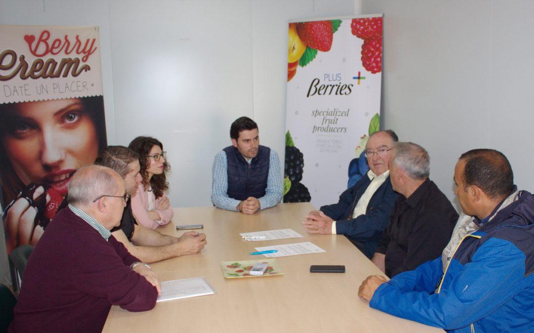 El Banco de Alimentos de Huelva y la empresa Agromartín acuerdan la entrega gratuita de excedentes agrícolas