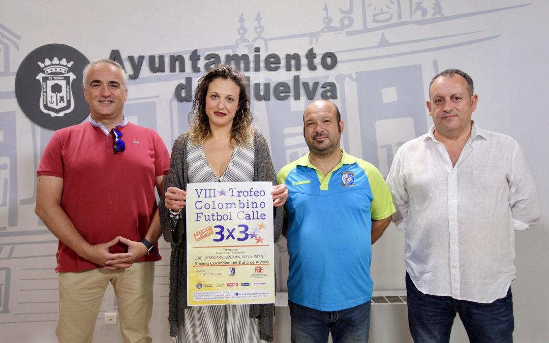Huelva celebrará el Trofeo Colombino Fútbol Calle 3×3 a beneficio del Banco de Alimentos