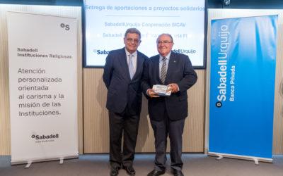 El Banco de Alimentos de Huelva, entre los 29 proyectos sociales financiados por SabadellUrquijo Banca Privada