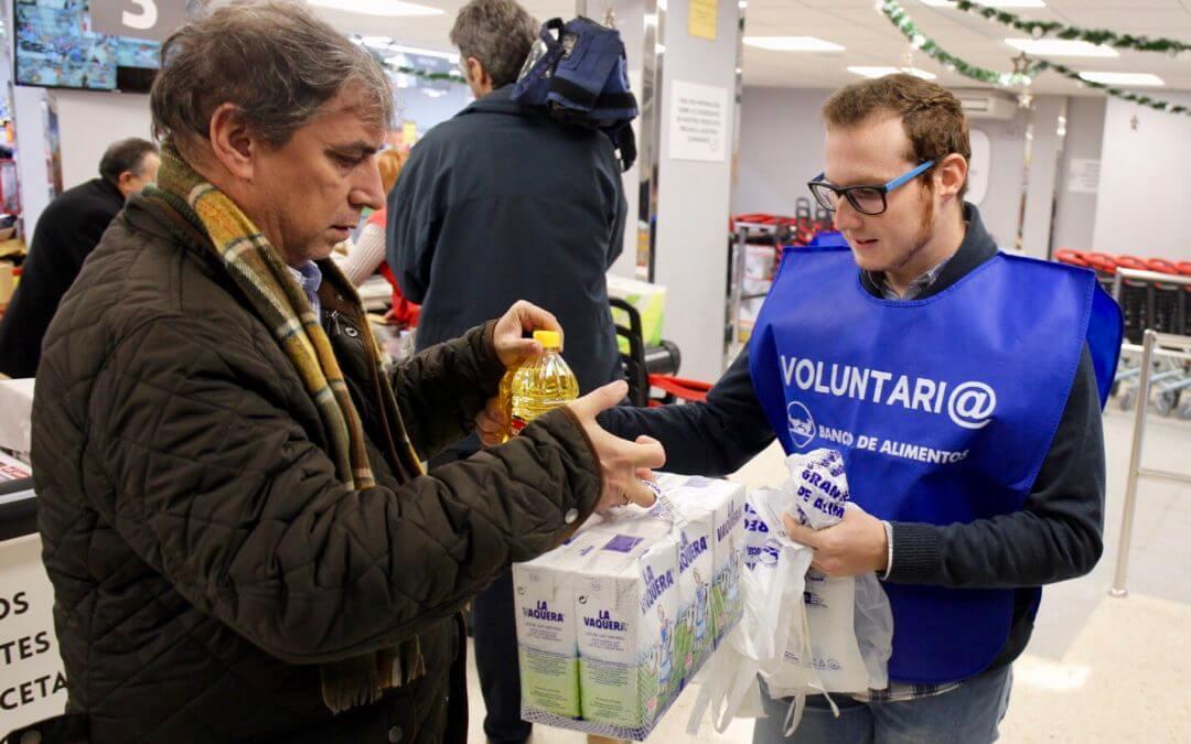 El Banco de Alimentos de Huelva confía en recaudar 140.000 kilos de alimentos en la Gran Recogida 2018