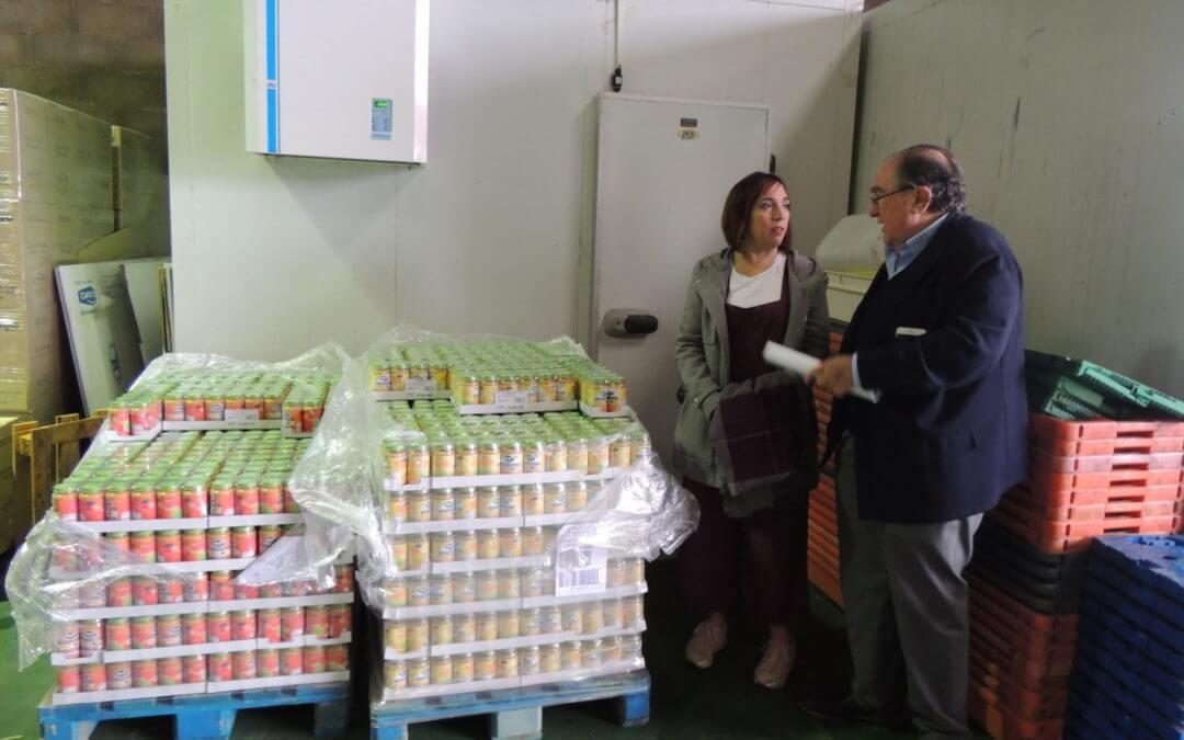 Ayuntamiento y  Banco de Alimentos se coordinan para planificar la 'Gran Recogida de Alimentos'