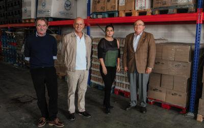 La Fundación Unicaja dona 5.000 kilos de comida al Banco de Alimentos de Huelva