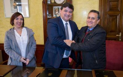 El Ayuntamiento renueva su compromiso con el Banco de Alimentos para llegar a 3.000 familias necesitadas de la ciudad