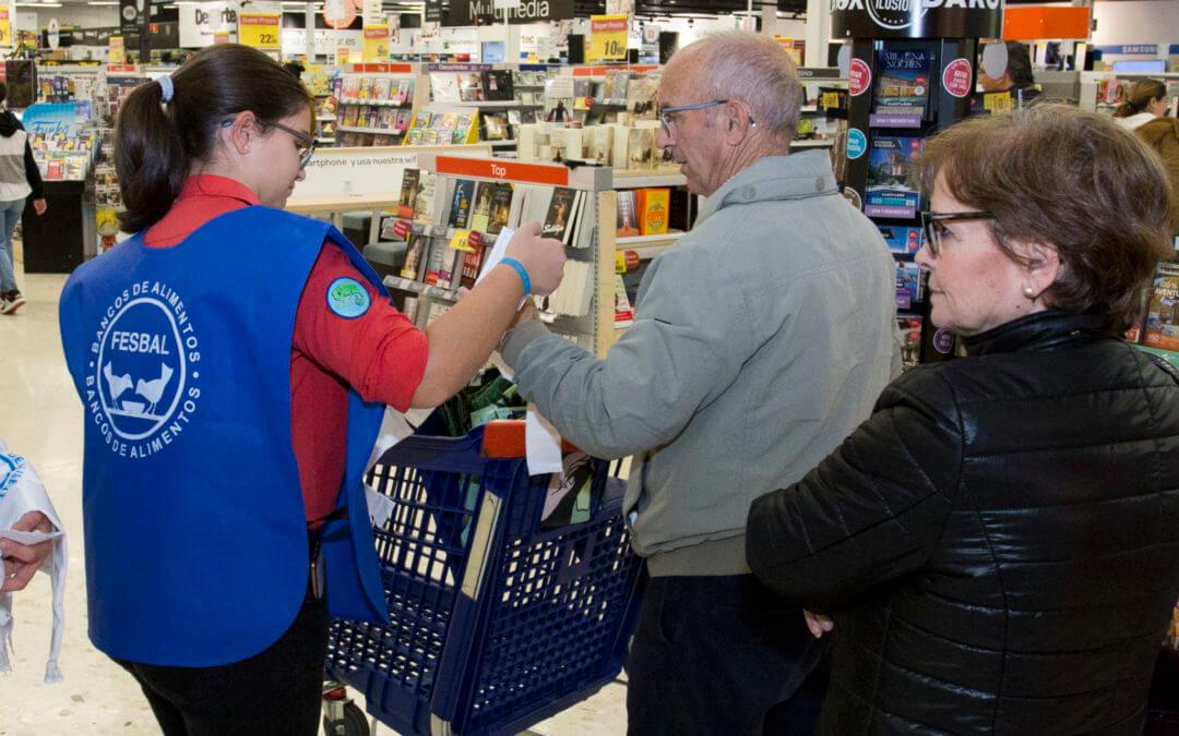 El Banco de Alimentos de Huelva recauda más de 135.000 kilos de alimentos en la Gran Recogida 2018