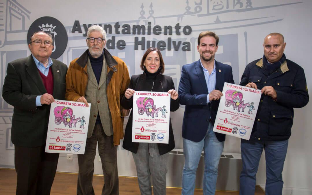 El Ayuntamiento y Emigrantes se unen para conseguir 1.500 kilos de comida para el Banco de Alimentos