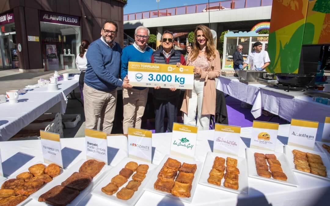 Holea entrega 3.000 kilos al Banco de Alimentos de Huelva