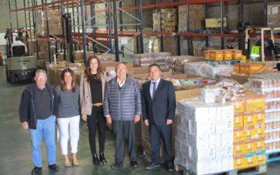 El Banco de Alimentos recibe más de 11.000 kilos de alimentos de la operación kilo de Carrefour