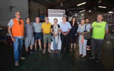 Fundación Cajasol y Banco de Alimentos impulsan un nuevo reparto de alimentos con más de 1.700 beneficiarios
