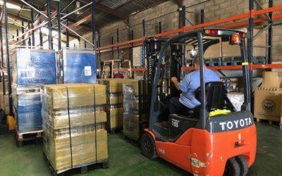 Mercadona entrega 3.900 kilos de productos al Banco de Alimentos de Huelva