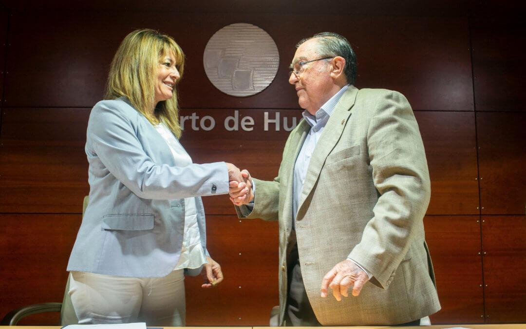 El Puerto de Huelva colaborará con el Banco de Alimentos en su atención a los más necesitados