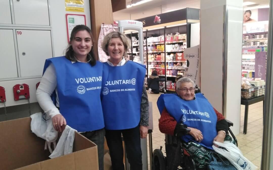 El Banco de Alimentos de Huelva recauda más de 120.000 kilos de alimentos en la Gran Recogida 2019