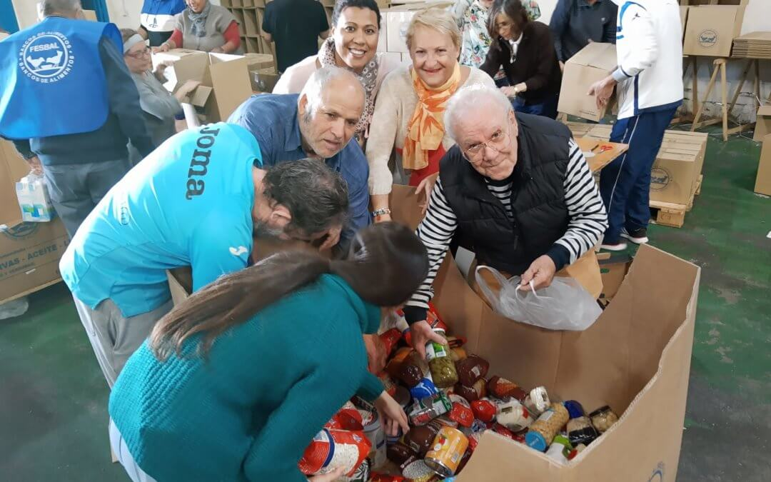 España se sitúa, un año más, a la cabeza en donaciones de alimentos en Europa