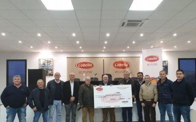El Banco de Alimentos de Huelva recibe 3.000€ de la cooperativa Cobella