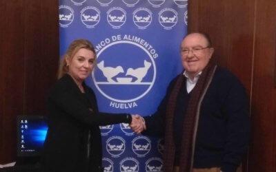 La empresa Damas renueva su compromiso con el Banco de Alimentos de Huelva