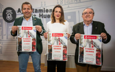 El Ayuntamiento y la Hermandad de Emigrantes ponen en marcha la 'II Carreta Solidaria' a beneficio del Banco de Alimentos de Huelva