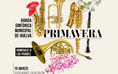 La Banda Sinfónica Municipal organiza un concierto el día 19 a beneficio del Banco de Alimentos de Huelva