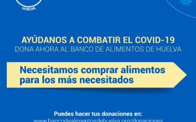 El Banco de Alimentos de Huelva se esfuerza para garantizar la ayuda alimentaria en la crisis del Covid 19