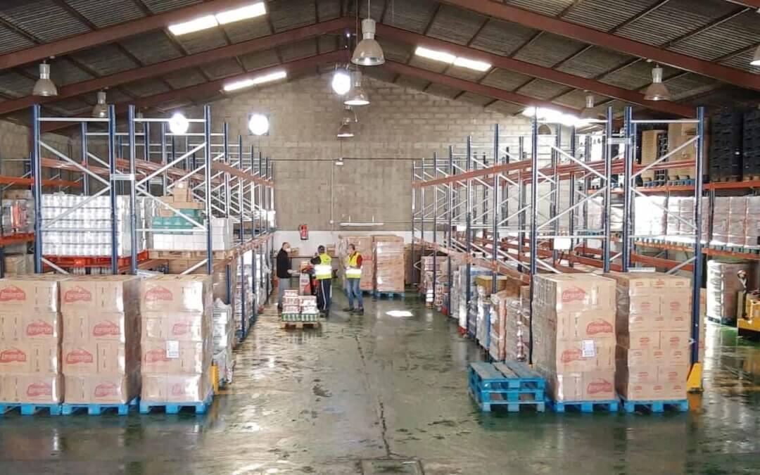 El Banco de Alimentos ha repartido más de 250.000 kilos de alimentos entre más de 15.000 beneficiarios desde el inicio de la crisis del coronavirus