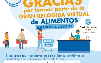 El BAH recauda más de 25.000 euros para alimentos en su Gran Recogida Virtual