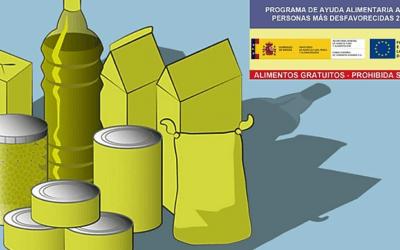 Comienza el programa 2020 de ayuda alimentaria a las personas más desfavorecidas