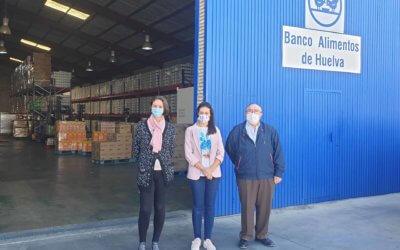 El Ayuntamiento de Aljaraque renueva su colaboración con la Gran Recogida del Banco de Alimentos de Huelva