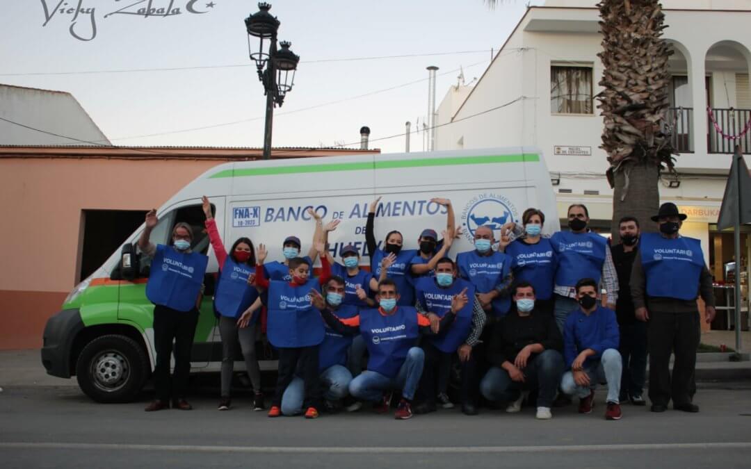 Lucena del Puerto se vuelca con el Banco de Alimentos de Huelva