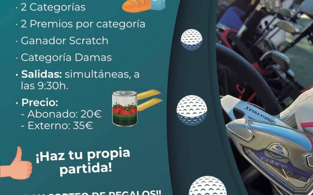El Bellavista Golf Club acoge el Torneo de Golf a beneficio del Banco de Alimentos de Huelva
