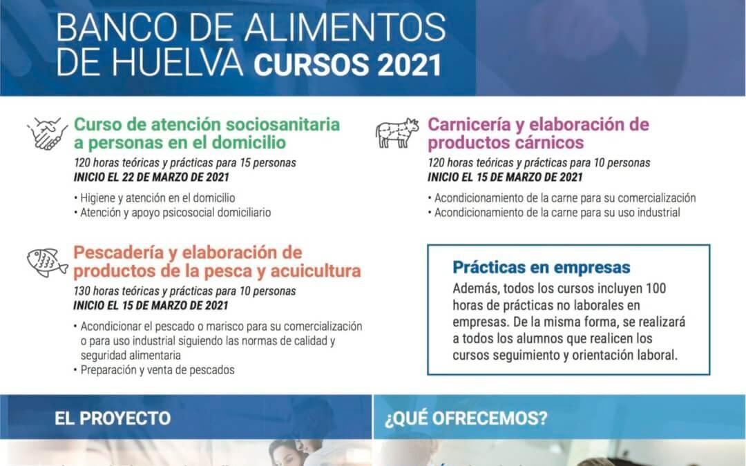 El Banco de Alimentos pone en marcha su programa de formación para 2021