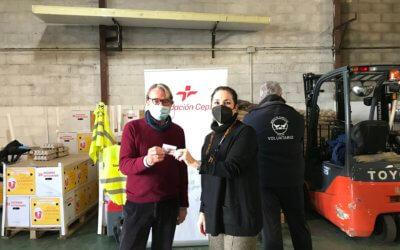 """El Banco de Alimentos de Huelva recibe """"la energía"""" de la Fundación Cepsa en tarjetas combustible"""