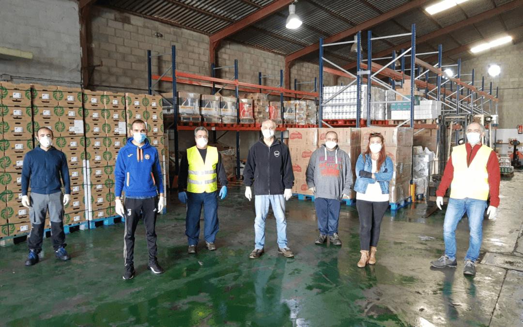 El Banco de Alimentos de Huelva repartió durante 2020 más de 3,5 millones de kilos de alimentos entre sus más de 15.000 beneficiarios