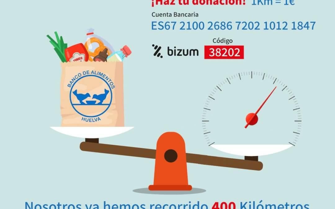 Los concesionarios Autogotran, Atlántida Premium e Isla Saltés Motor lanzan la campaña 'Kilos por kilómetros' a beneficio del Banco de Alimentos de Huelva