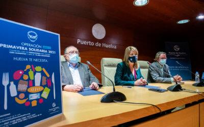El Banco de Alimentos de Huelva organiza la Operación Primavera Solidaria 2021 para dar respuesta al aumento de la demanda de alimentos como consecuencia de la Covid-19