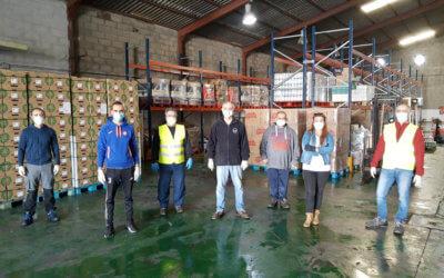 La Fundación Mutua Madrileña dona al Banco de Alimentos de Huelva la recaudación de los conciertos de 2020