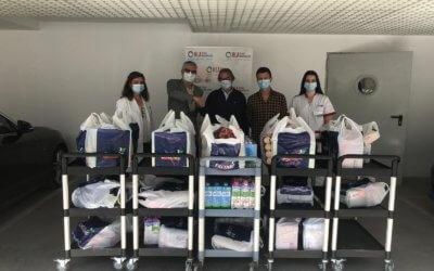 El Grupo Hospitalario Los Naranjos dona productos al Banco de Alimentos